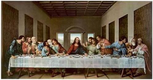 The Last Supper Model | Afire Within Da Vinci Last Supper High Resolution